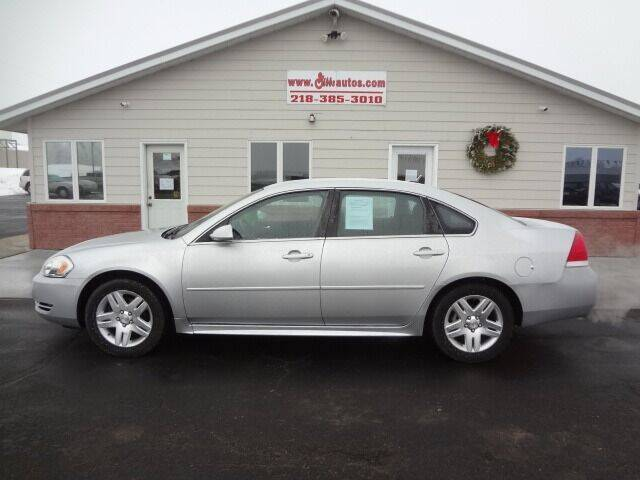 2012 Chevrolet Impala for sale at GIBB'S 10 SALES LLC in New York Mills MN