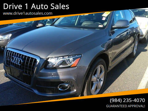 2012 Audi Q5 for sale at Drive 1 Auto Sales in Wake Forest NC