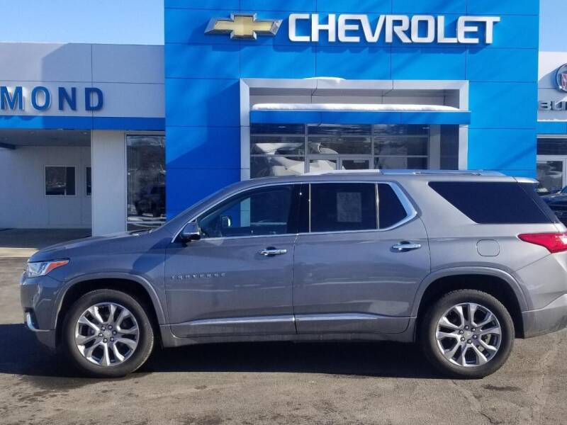 2018 Chevrolet Traverse for sale at EDMOND CHEVROLET BUICK GMC in Bradford PA