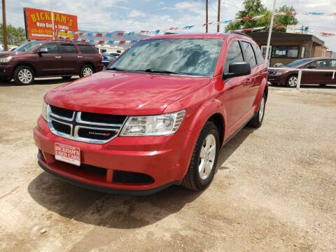 2016 Dodge Journey for sale at Bickham Used Cars in Alamogordo NM