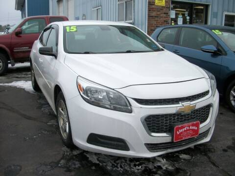 2015 Chevrolet Malibu for sale at Lloyds Auto Sales & SVC in Sanford ME