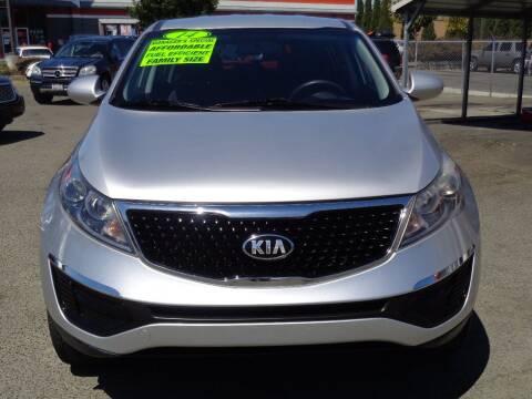 2014 Kia Sportage for sale at Vallejo Motors in Vallejo CA