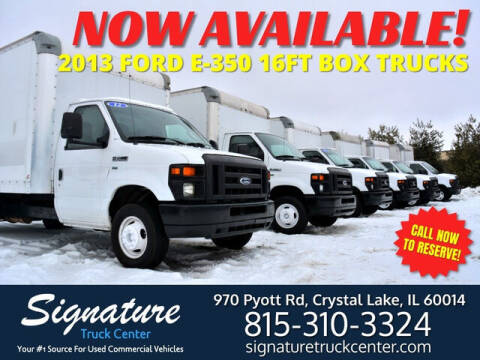 2013 Ford E-350 for sale at Signature Truck Center in Crystal Lake IL