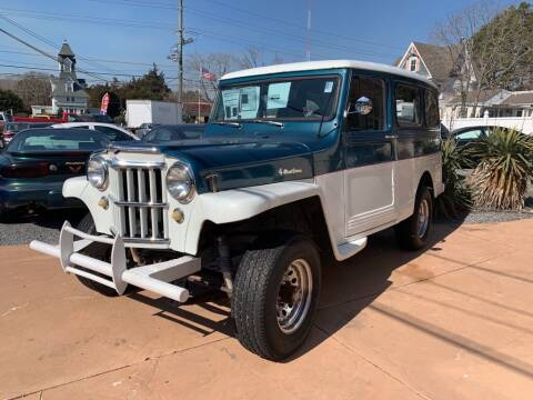 1962 Jeep WILLYS WAG for sale at Century Motor Cars in West Creek NJ