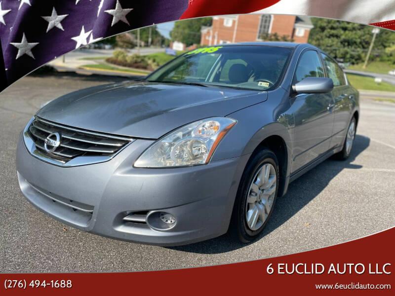 2012 Nissan Altima for sale at 6 Euclid Auto LLC in Bristol VA