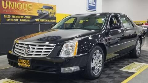 2011 Cadillac DTS for sale at UNIQUE SPECIALTY & CLASSICS in Mankato MN