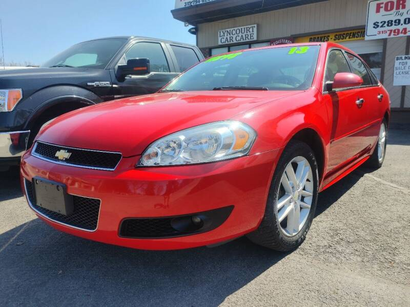 2013 Chevrolet Impala for sale at JD Motors in Fulton NY