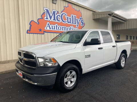 2017 RAM Ram Pickup 1500 for sale at McCully's Automotive - Trucks & SUV's in Benton KY
