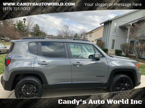 2019 Jeep Renegade for sale at Candy's Auto World Inc in Toledo OH