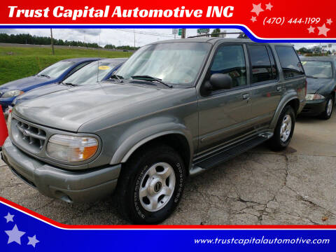1999 Ford Explorer for sale at Trust Capital Automotive Inc. in Covington GA