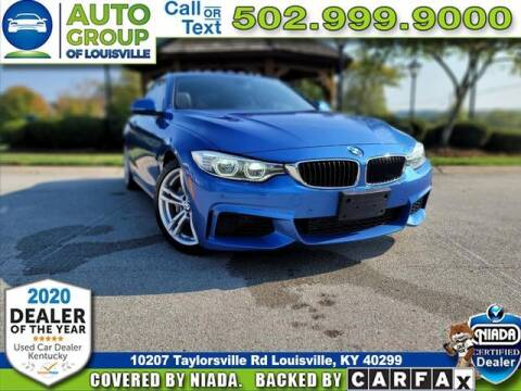 2014 BMW 4 Series for sale at Auto Group of Louisville in Louisville KY