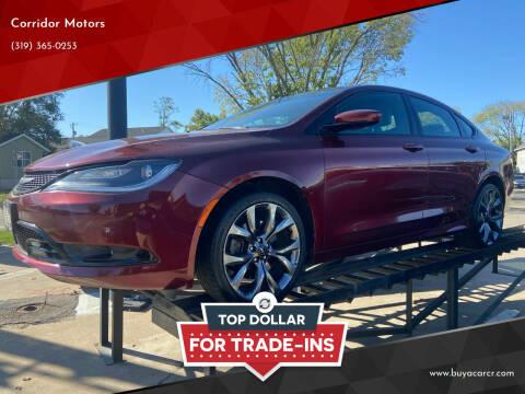 2015 Chrysler 200 for sale at Corridor Motors in Cedar Rapids IA