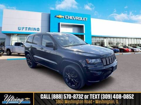 2019 Jeep Grand Cherokee for sale at Gary Uftring's Used Car Outlet in Washington IL