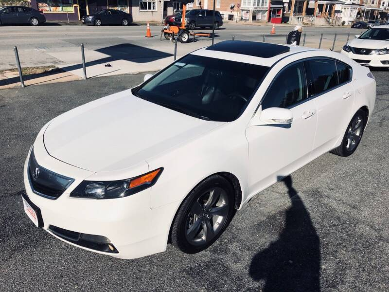 2014 Acura TL for sale at Trimax Auto Group in Baltimore MD