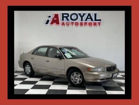 2003 Buick Century for sale at Royal AutoSport in Sacramento CA