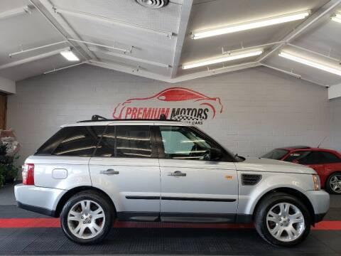 2006 Land Rover Range Rover Sport for sale at Premium Motors in Villa Park IL
