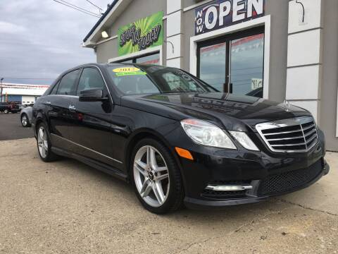2012 Mercedes-Benz E-Class for sale at MARIETTA MOTORS LLC in Marietta OH