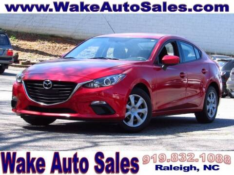 2016 Mazda MAZDA3 for sale at Wake Auto Sales Inc in Raleigh NC