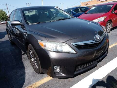 2011 Toyota Camry Hybrid for sale at Auto Plaza in Irving TX