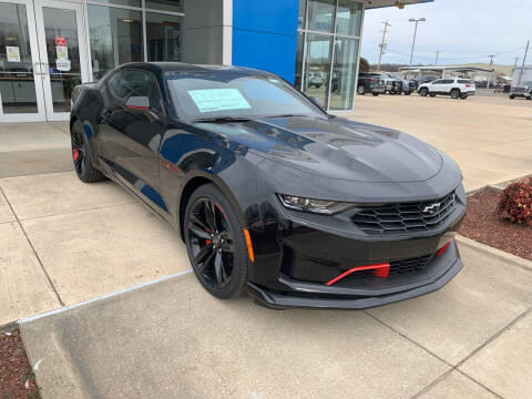 2021 Chevrolet Camaro for sale at BULL MOTOR COMPANY in Wynne AR