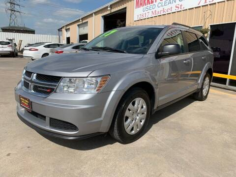 2017 Dodge Journey for sale at Market Street Auto Sales INC in Houston TX