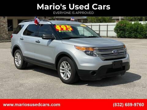 2015 Ford Explorer for sale at Mario's Used Cars - Pasadena Location in Pasadena TX