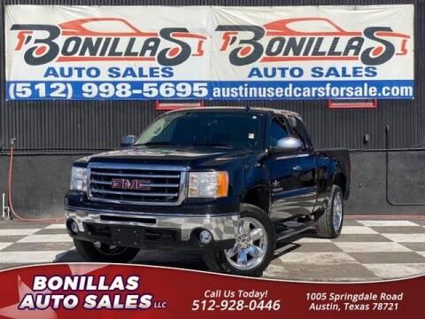 2013 GMC Sierra 1500 for sale at Bonillas Auto Sales in Austin TX
