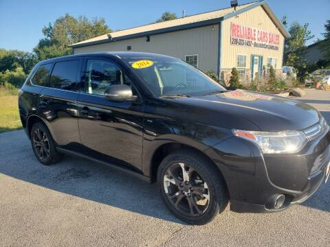 2014 Mitsubishi Outlander for sale at Reliable Cars Sales in Michigan City IN