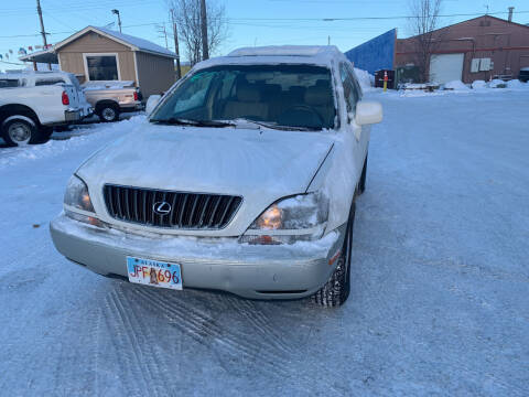 2000 Lexus RX 300 for sale at ALASKA PROFESSIONAL AUTO in Anchorage AK
