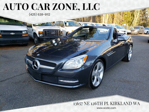 2012 Mercedes-Benz SLK for sale at Auto Car Zone, LLC in Kirkland WA