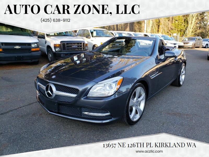 2012 Mercedes-Benz SLK for sale at Auto Car Zone, LLC in Kirkland WA
