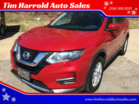 2017 Nissan Rogue for sale at Tim Harrold Auto Sales in Wilkesboro NC