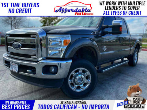2016 Ford F-250 Super Duty for sale at Affordable Auto Solutions in Wilmington CA