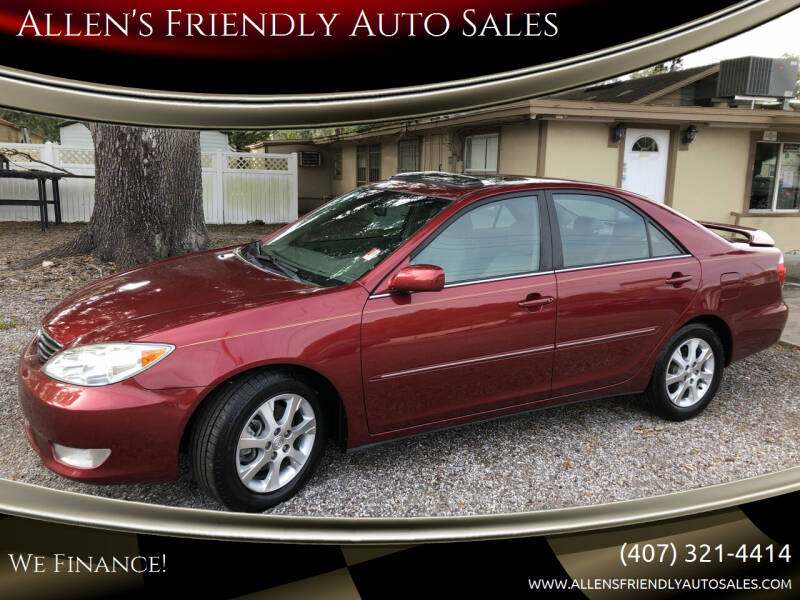 2006 Toyota Camry for sale at Allen's Friendly Auto Sales in Sanford FL