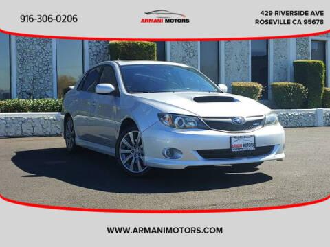 2009 Subaru Impreza for sale at Armani Motors in Roseville CA
