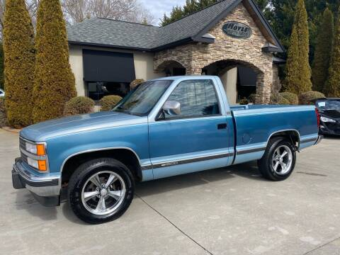 1990 Chevrolet C/K 1500 Series for sale at Hoyle Auto Sales in Taylorsville NC