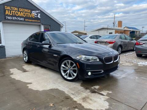 2014 BMW 5 Series for sale at Dalton George Automotive in Marietta OH