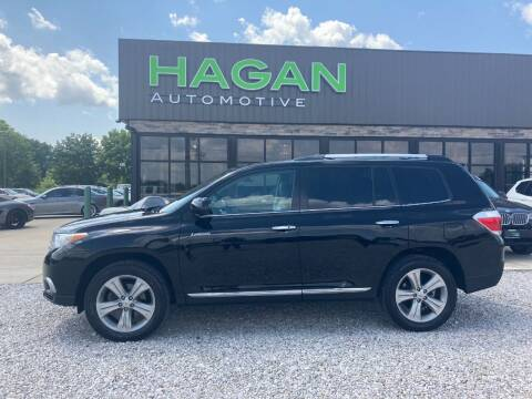 2012 Toyota Highlander for sale at Hagan Automotive in Chatham IL
