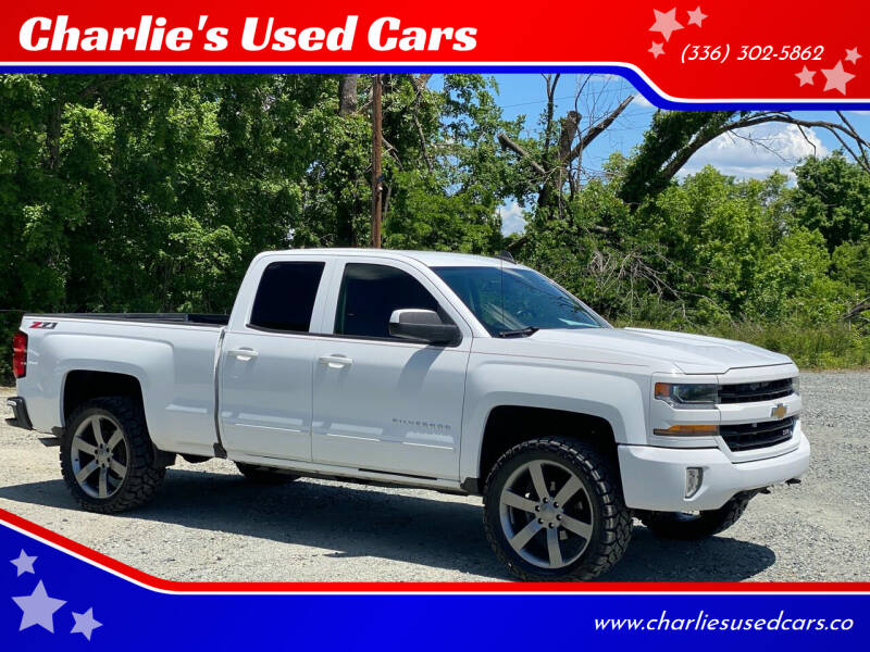 2017 Chevrolet Silverado 1500 for sale at Charlie's Used Cars in Thomasville NC