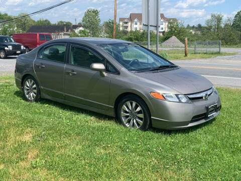 2007 Honda Civic for sale at Saratoga Motors in Gansevoort NY