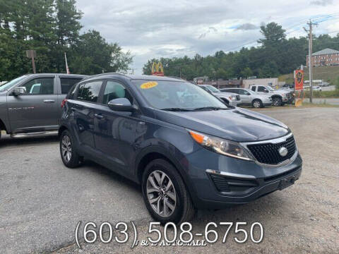 2014 Kia Sportage for sale at J & E AUTOMALL in Pelham NH