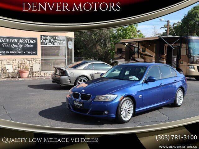 2011 BMW 3 Series for sale at DENVER MOTORS in Englewood CO