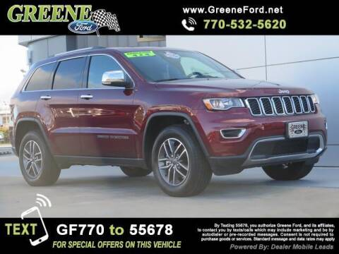 2020 Jeep Grand Cherokee for sale at Nerd Motive, Inc. - NMI in Atlanta GA