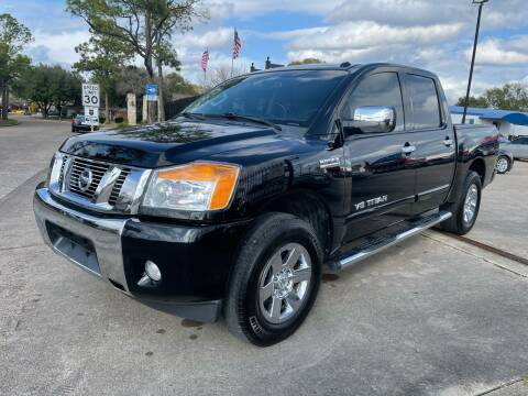 2013 Nissan Titan for sale at Newsed Auto in Houston TX