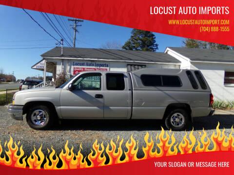 2004 Chevrolet Silverado 1500 for sale at Locust Auto Imports in Locust NC