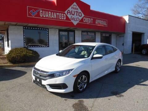 2017 Honda Civic for sale at Oak Park Auto Sales in Oak Park MI