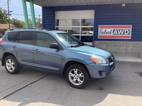 2011 Toyota RAV4 for sale at Select AWD in Provo UT