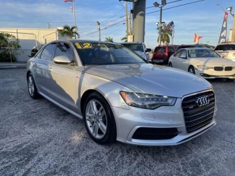 2012 Audi A6 for sale at Brascar Auto Sales in Pompano Beach FL