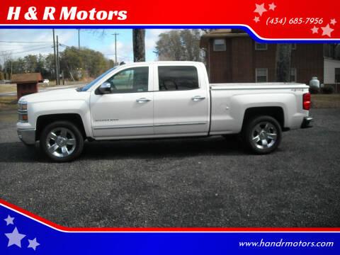2014 Chevrolet Silverado 1500 for sale at H & R Motors in Danville VA