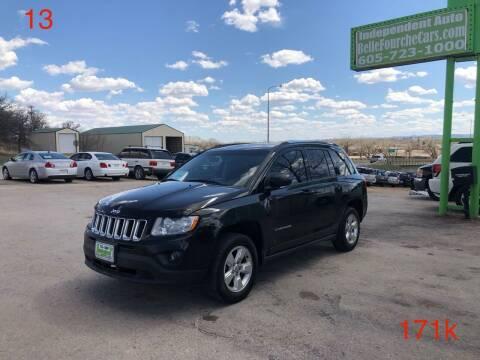 2013 Jeep Compass for sale at Independent Auto in Belle Fourche SD